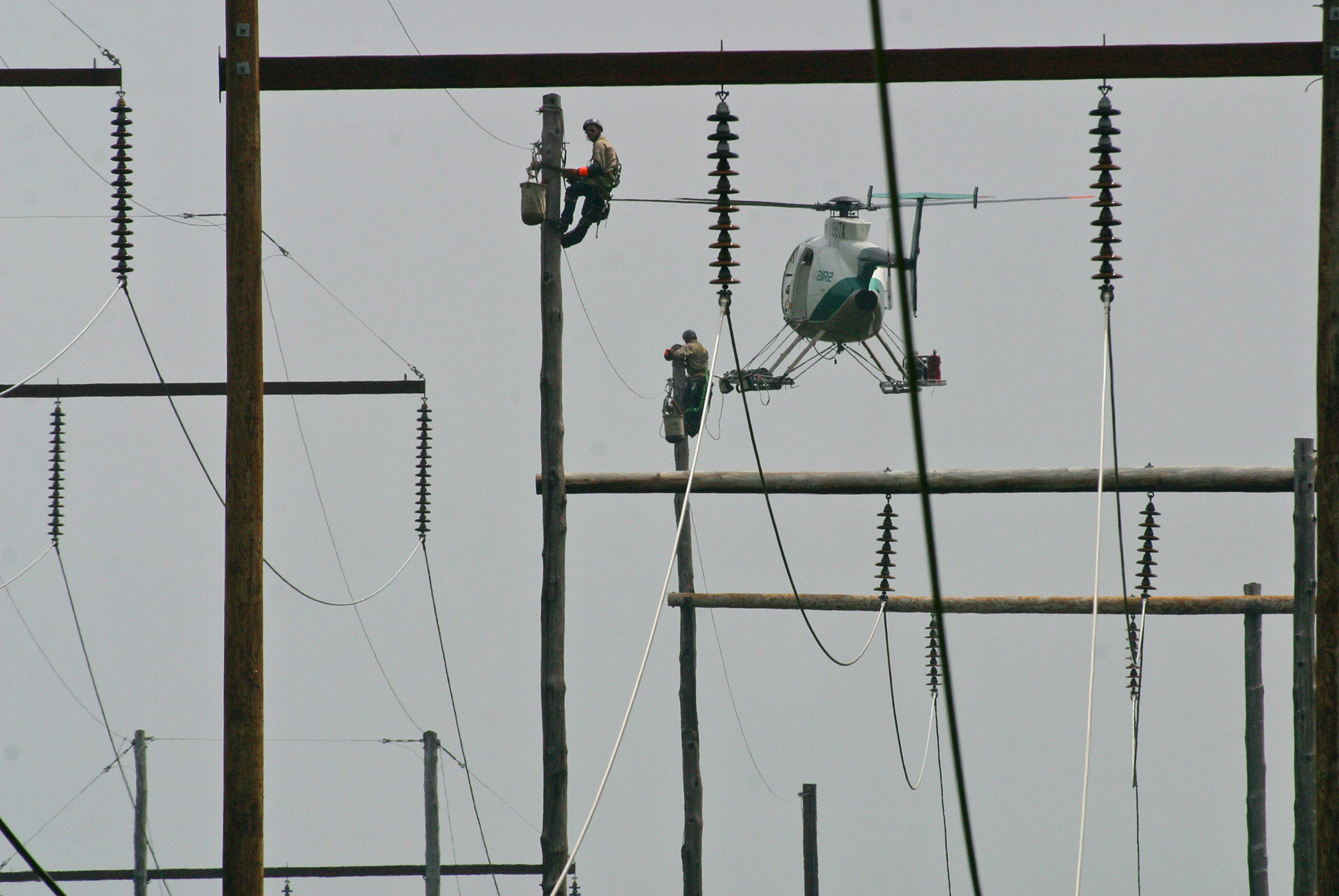 Slide 4 – Transmission Line Maintenance