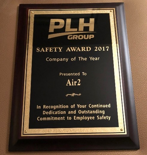 air2 wins plh group safety award for 2017 air2